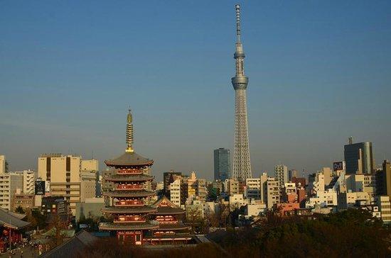 Richmond Hotel Asakusa : 部屋からの眺望