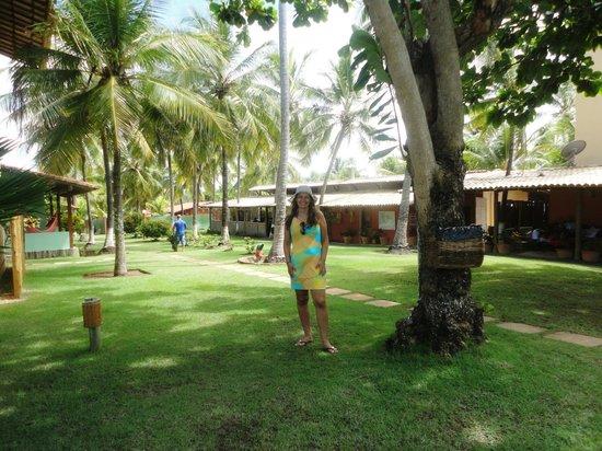 Pousada Praia das Ondas : Jardim  para encher os olhos....lindo!