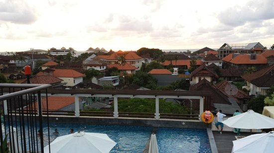 The ONE Legian: View from roof top