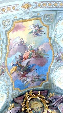 Ceiling frescos by Daniel Gran at St. Anna's Church