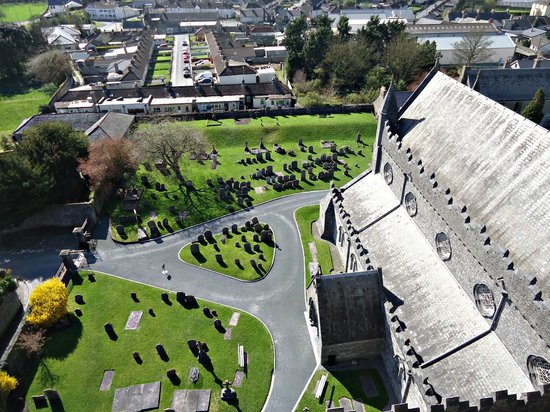 St. Canice's Cathedral & Round Tower : view from the round tower - April/2014