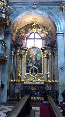 The altar area of St. Anna's Church