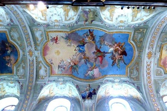 St. Anna's Church: Ceiling frescos by Daniel Gran