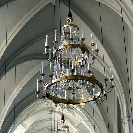 Augustinerkirche: Chandeliers at St. Augustine's Church