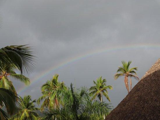 Sublime Samana: morning rainbow