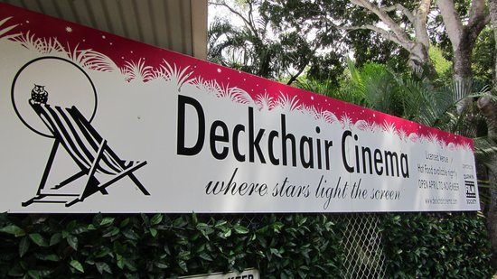 Deckchair Cinema: guess what u sit on