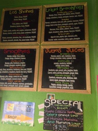 Orangy: Plenty of options