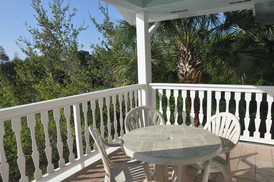 Disney's Old Key West Resort: View of Room 2630's  balcony