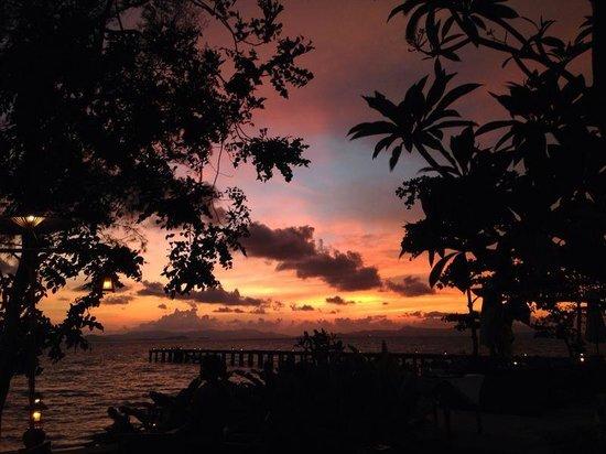 Santhiya Koh Yao Yai Resort & Spa : Sunset