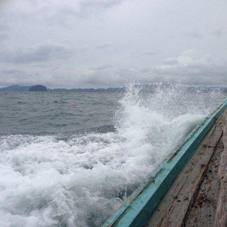 Santhiya Koh Yao Yai Resort & Spa : Überfahrt