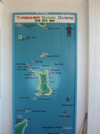 Thresher Shark Divers: site map
