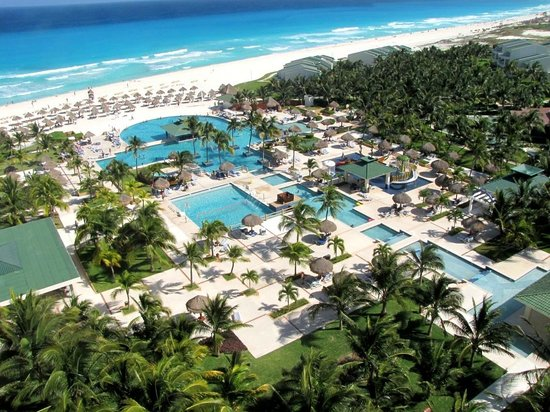 Iberostar Cancun : From our room on 7th. floor