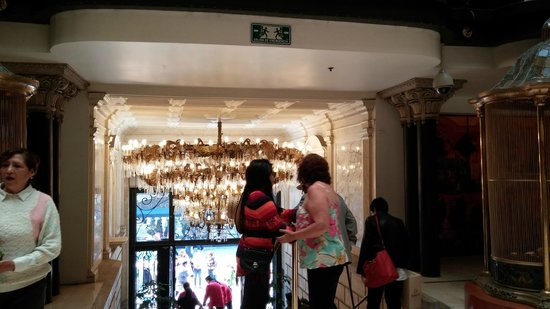 Gran Hotel Ciudad de Mexico : recepção