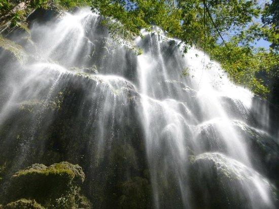 Tumalog Falls : the view from below