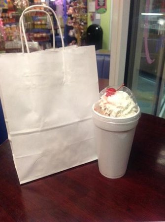 Scoops: treets and a milkshake!