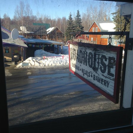 Talkeetna Roadhouse: vista do quarto