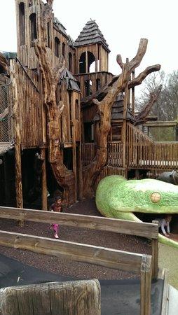 Nashville Zoo: kids playland