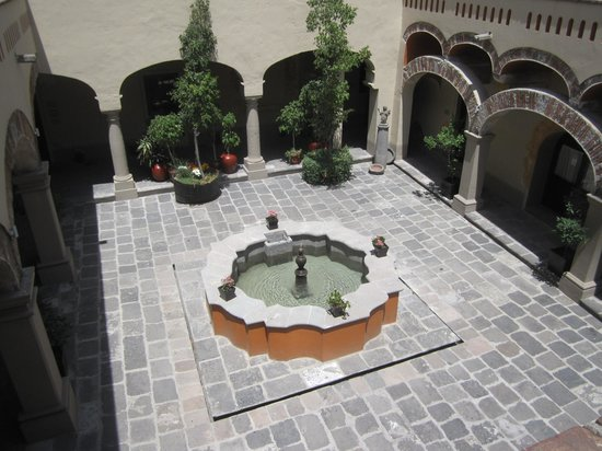 Quinta Real Puebla : One of the interior courtyards