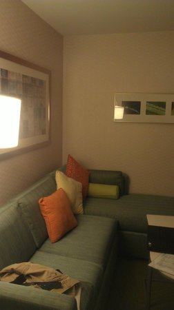 SpringHill Suites Alexandria : Siting area