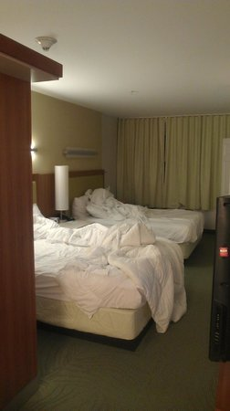 SpringHill Suites Alexandria : Very comfortable beds