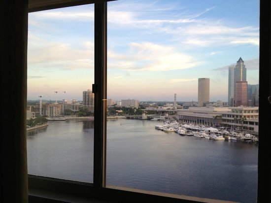 Westin Tampa Harbour Island : Nice view is the only benefit