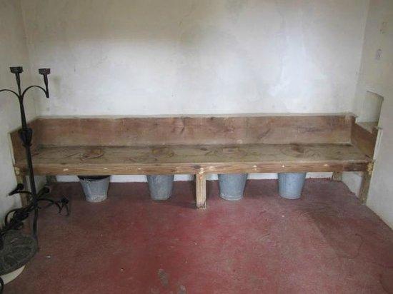 St. Nicholas Abbey: The toilets