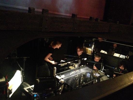 Les Miserables London: front row