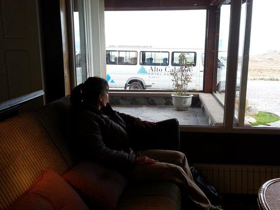 Alto Calafate Hotel Patagonico: con el transfer de fondo