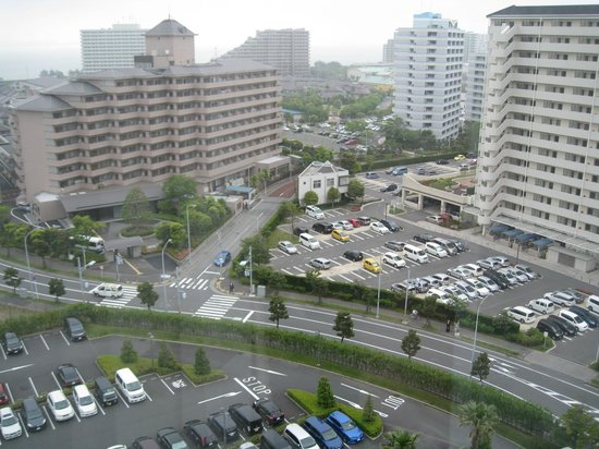 Hotel Emion Tokyo Bay: View from my room
