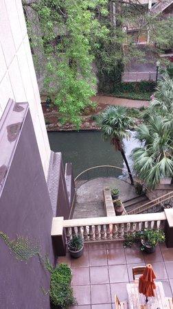 Hotel Valencia Riverwalk: Room view