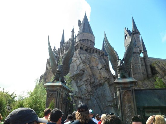 Universal's Islands of Adventure: Castelo do Harry Porter