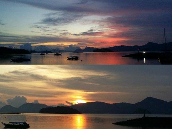 Resorts World Langkawi : sunrise from room.