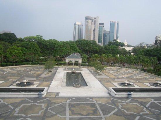 National Mosque (Masjid Negara) : courtyard