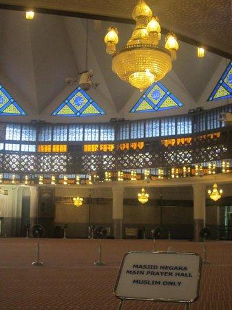 National Mosque (Masjid Negara) : interiors