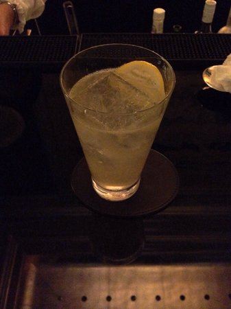 St. Regis Bar: Boston cooler