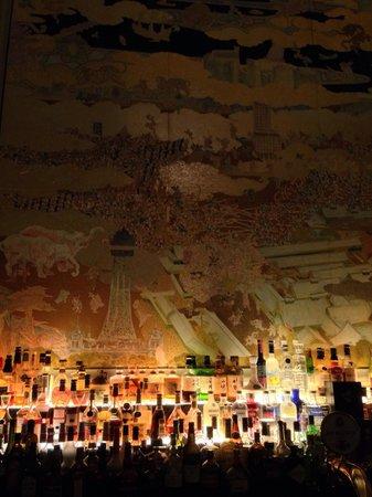 St. Regis Bar: 멋진 벽화