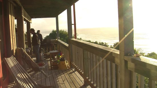 The Old Slaughterhouse : Watching the sunset on the veranda
