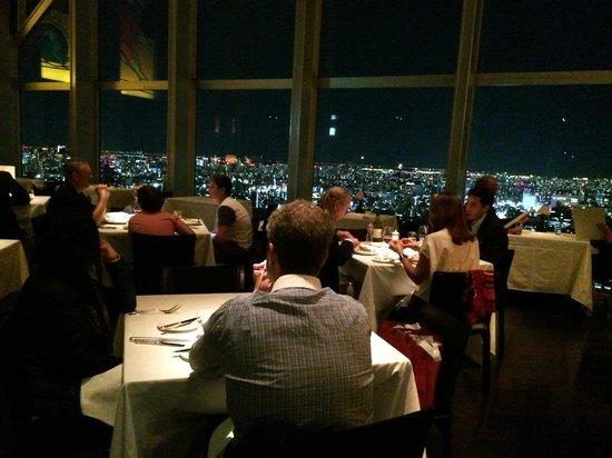 New York Grill: Dining room