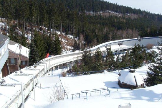 Hotel Lugsteinhof : geführter Besuch am Eiskanal