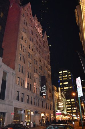 AKA Times Square : Fachada del hotel