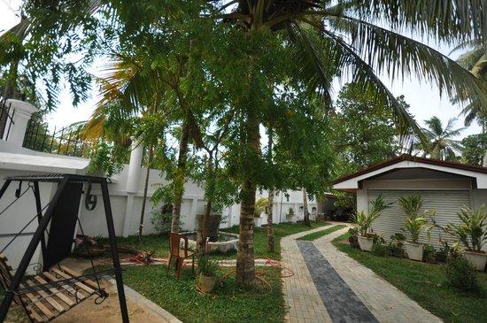 Bandhusena House & Apartment : courtyard
