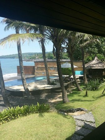 Turtle Bay Hideaway: Pool by the sea