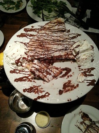 Centro Woodfired Pizzeria : Nutella dessert