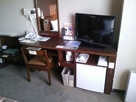 Hotel Route Inn Ota : シングルの室内