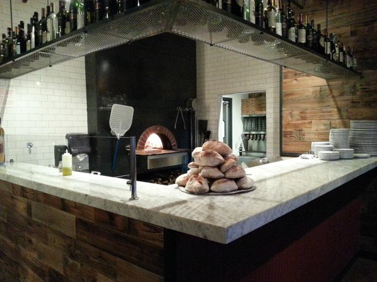 Centro Woodfired Pizzeria : The wood fired oven
