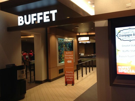 Buffet at Wind Creek Wetumpka