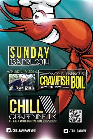 Chill Restaurant & Bar: World Famous Crawfish Boil, With Jason Ashley