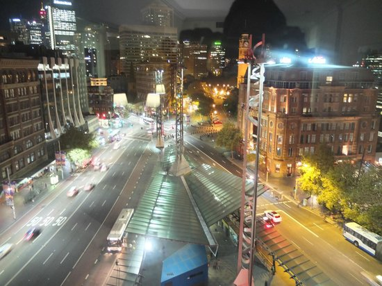 Mercure Sydney: View from the 10th floor room