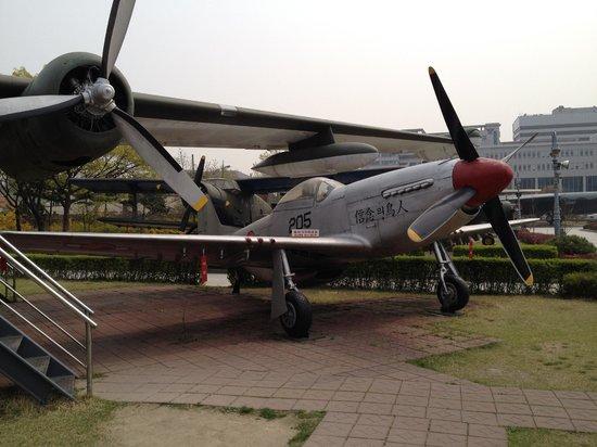 Monumento de Guerra de Corea: The famous P51 mustang
