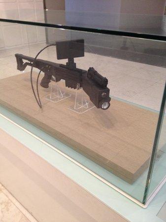 Monumento de Guerra de Corea: The amazing rifle that can shoot around corners